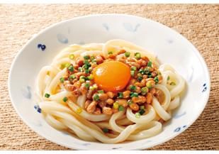 うどん レシピ 納豆