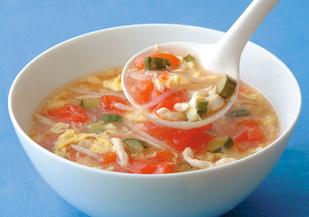 トマト スープ 酸っぱい